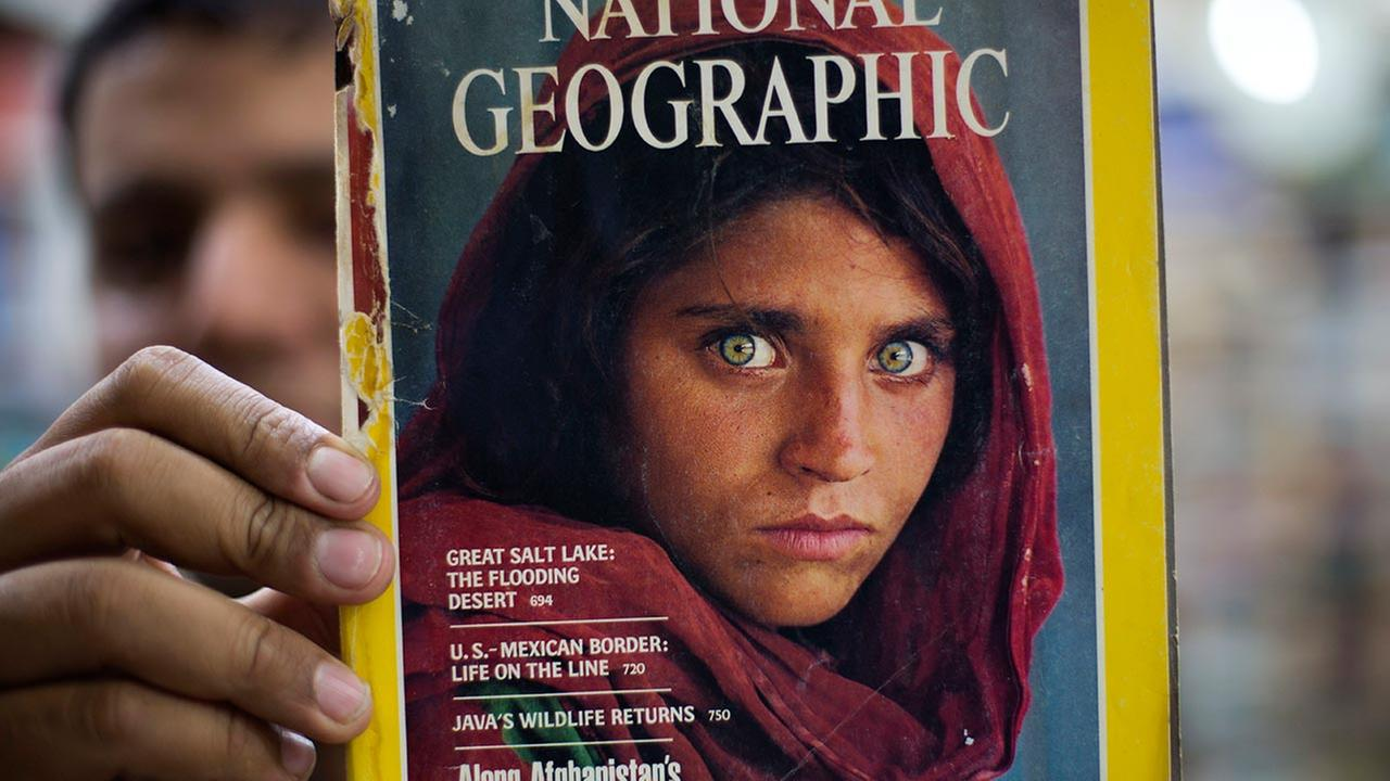 Sharbat Gulla, National Geographics famed green-eyed Afghan Girl