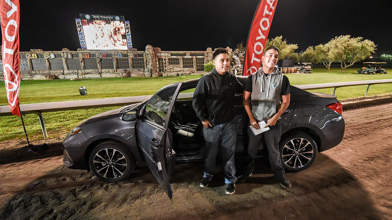 Hoover High Sophomore's Drive to Succeed Pays off with New Car