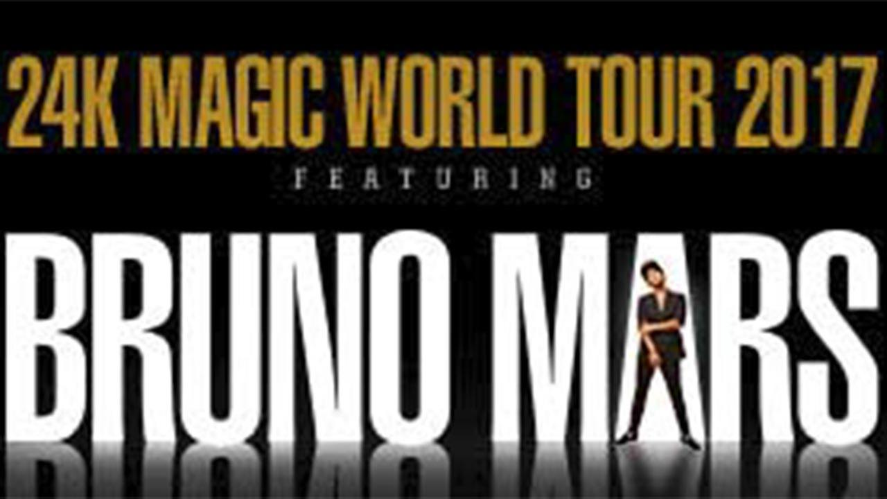 FILE: Bruno Mars 24K Magic World Tour