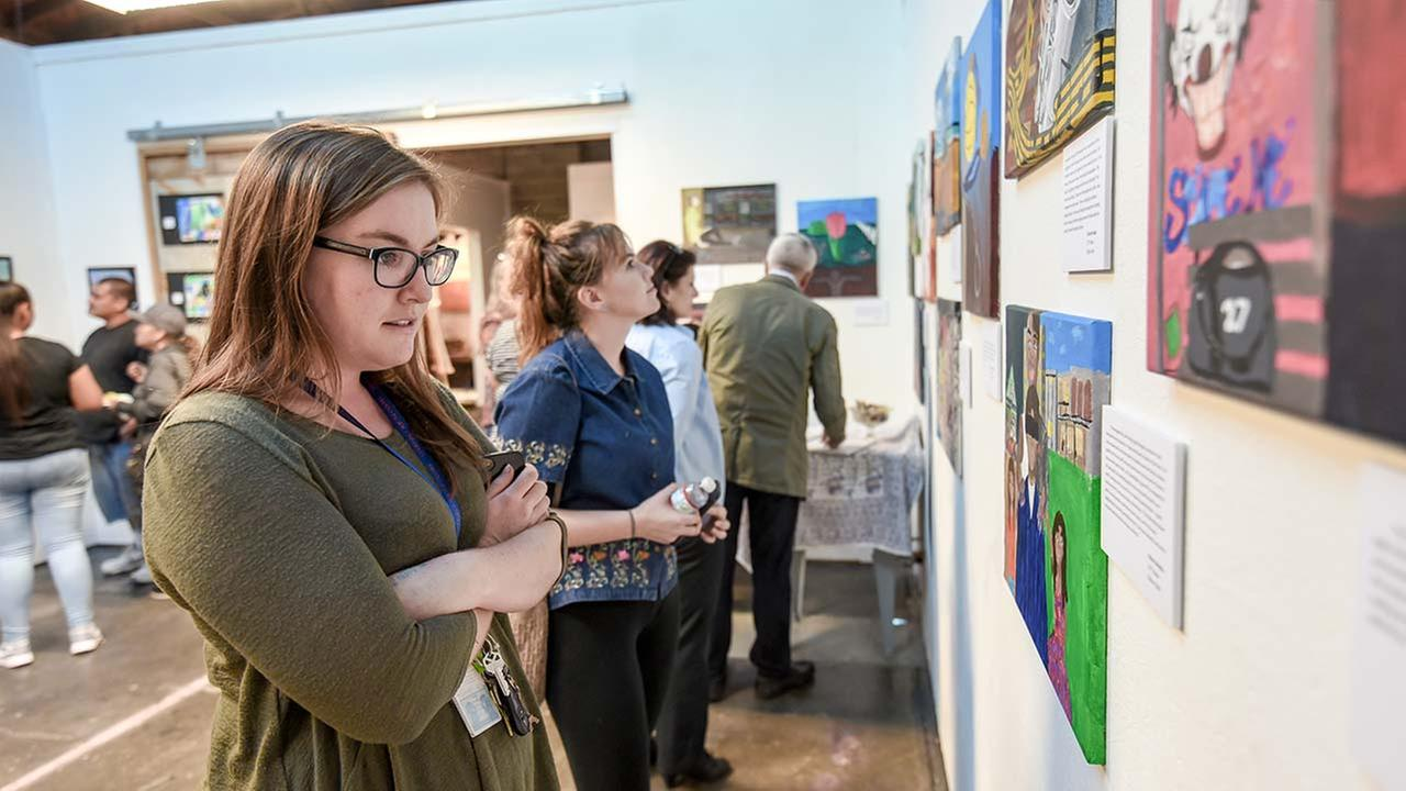 District Secures Premier Gallery Space for Student Art