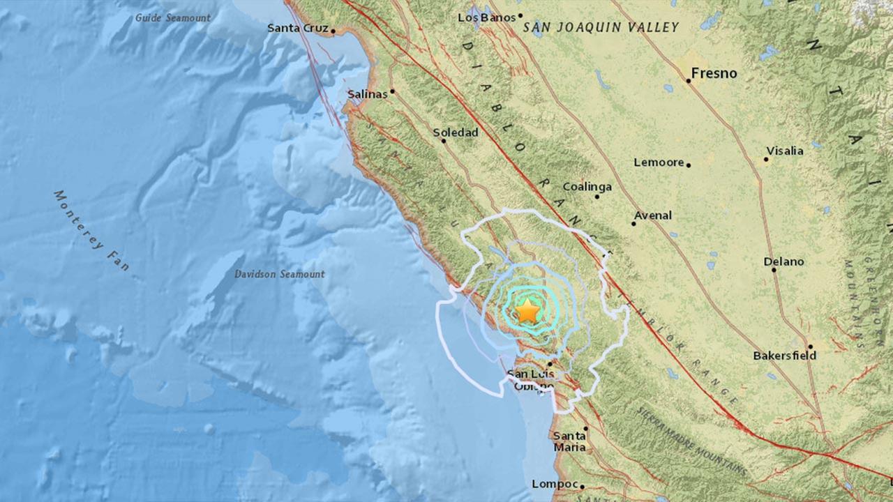 3.9 earthquake shakes near Paso Robles
