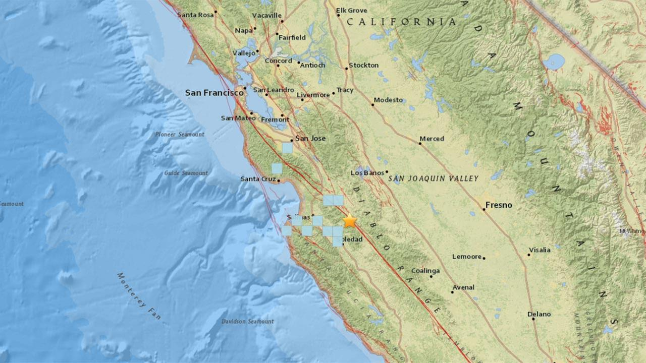 3.7 earthquake strikes near Pinnacles National Park, USGS says