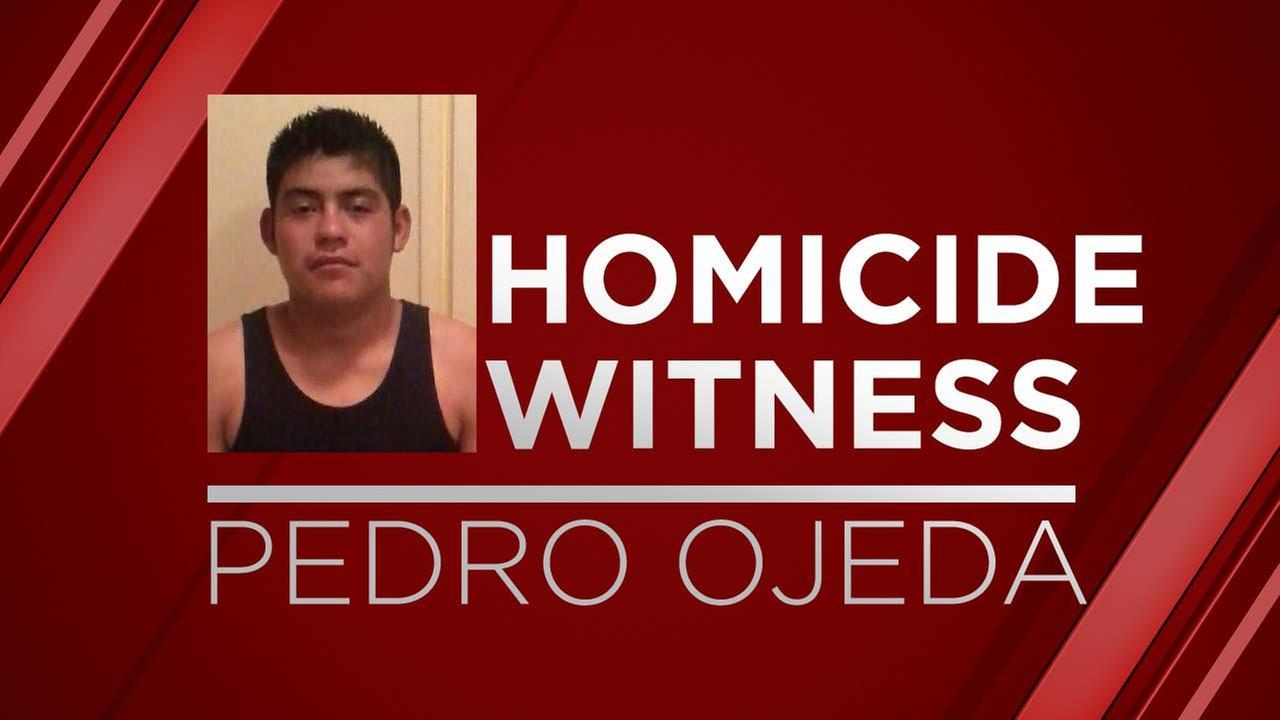 22-year-old Pedro Ojeda