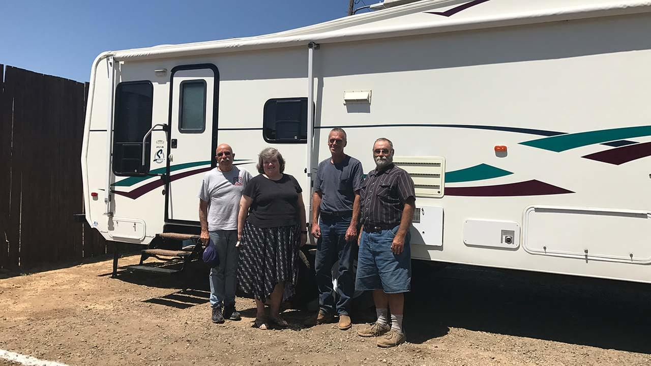 Group brings trailers for Detwiler Fire victims