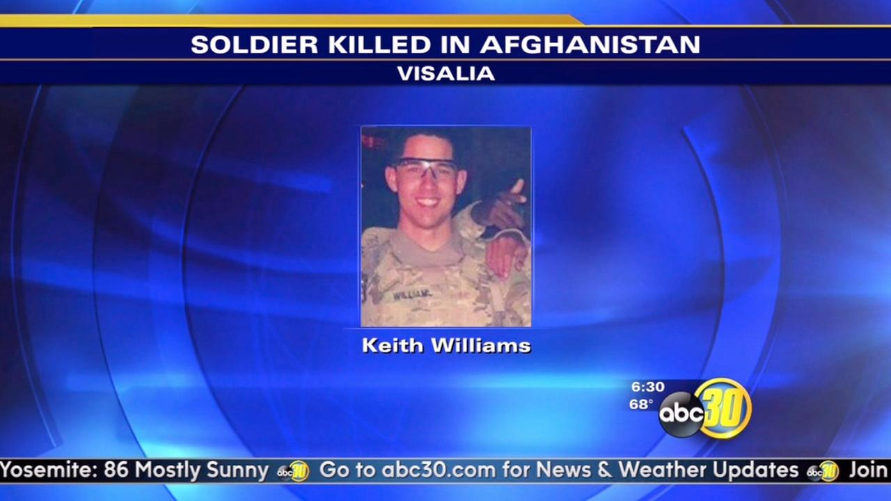 Fallen soldiers body to be returned to Visalia