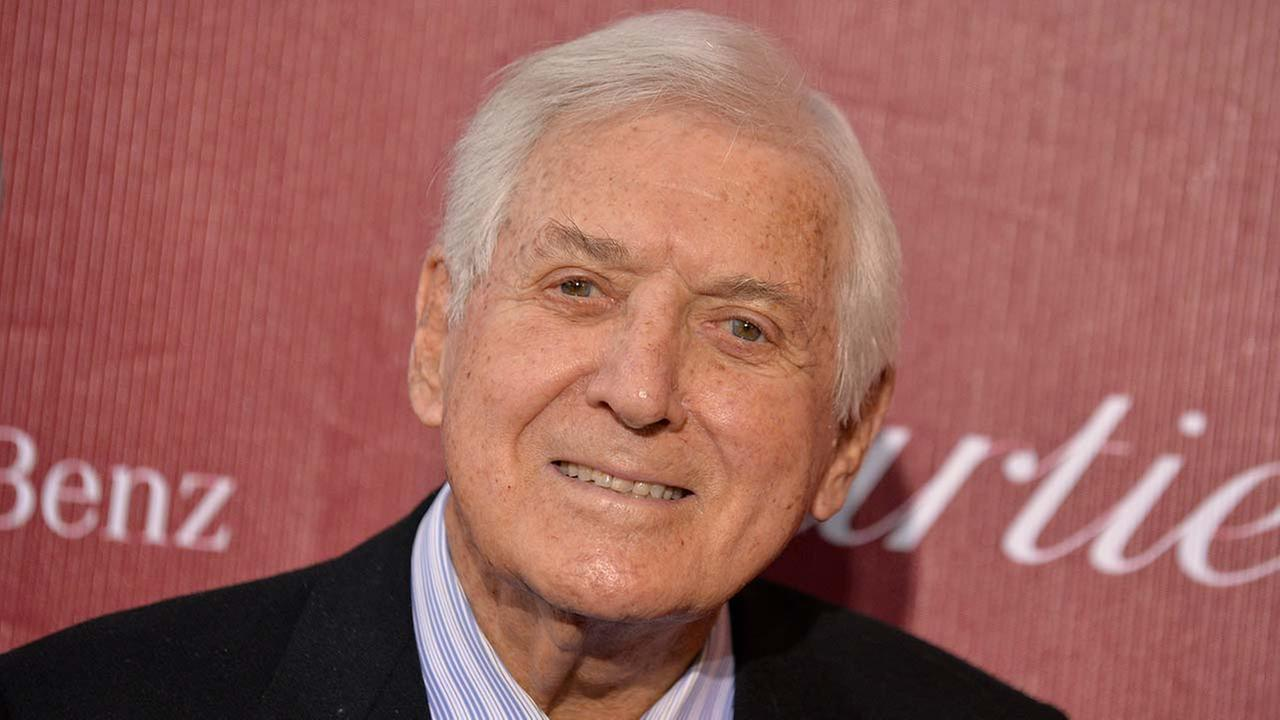 Monty Hall arrives at the Palm Springs International Film Festival Awards Gala at the Palm Springs Convention Center on Saturday, Jan. 4, 2014, in Palm Springs, Calif.