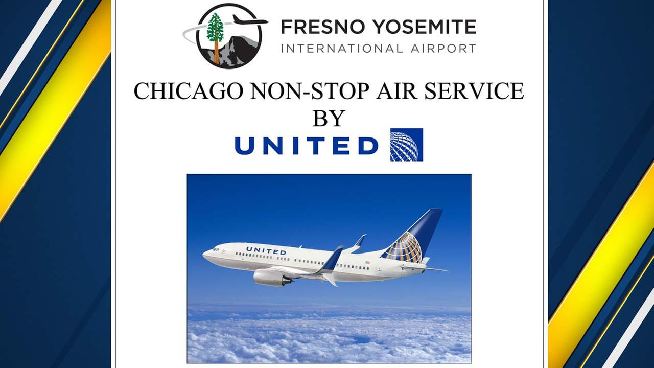 Fresno Airport Announces New Non-Stop Flights to Chicago
