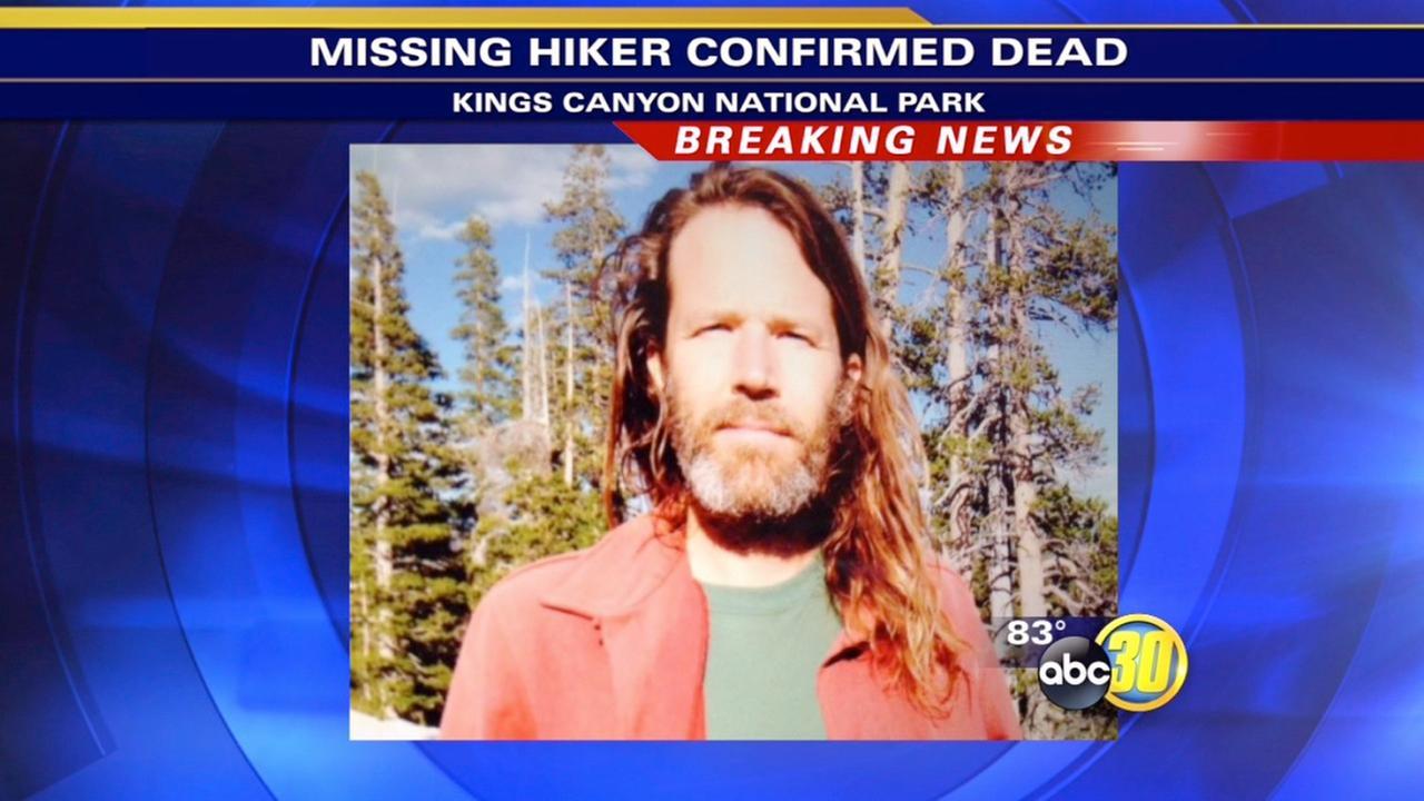 Hiker confirmed dead - Gregory Muck