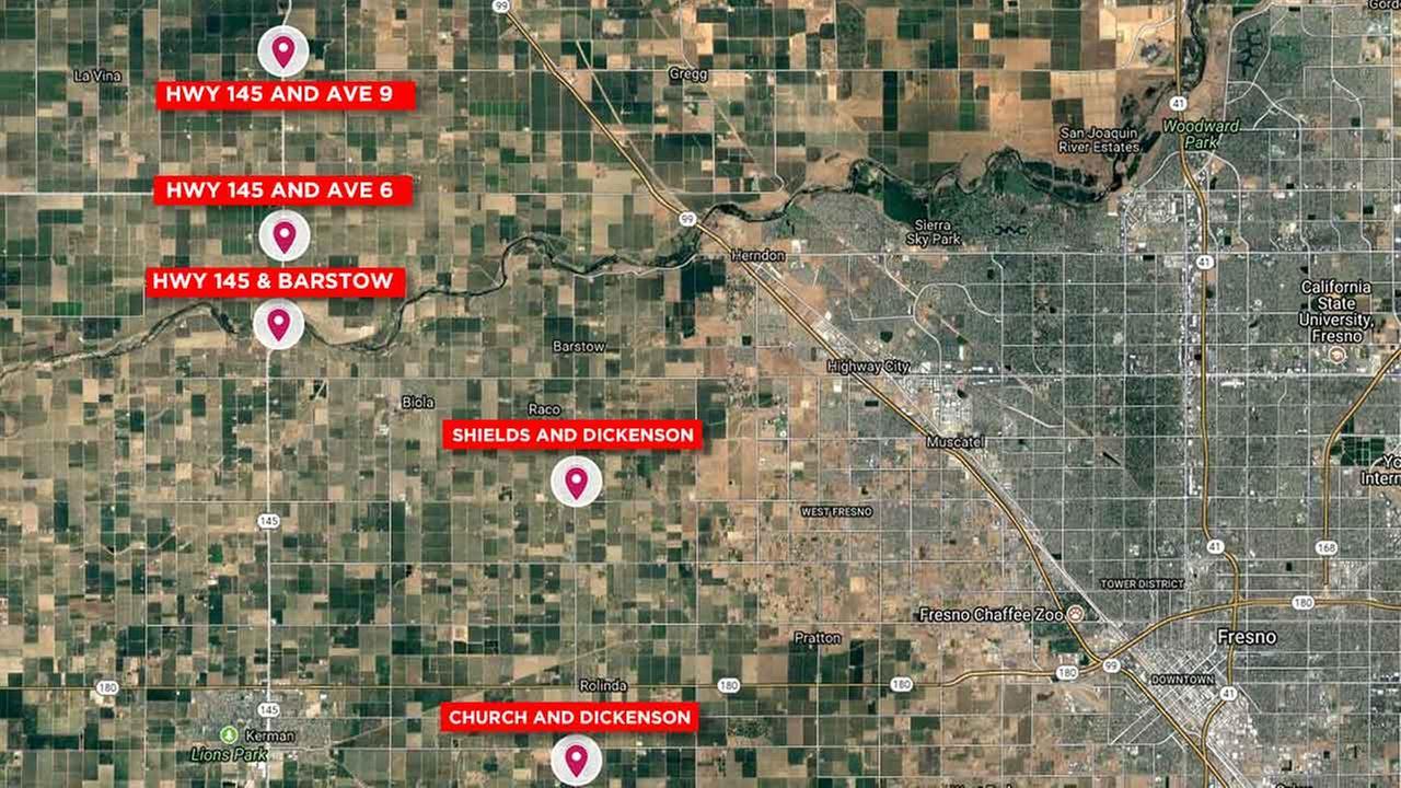 Authorities investigate 6th random shooting on Valley roadways