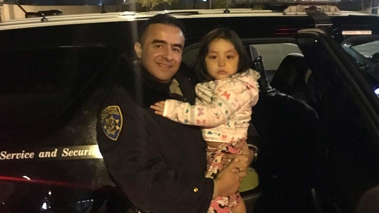 CHP officers are being hailed as heroes after they rescue a 2-year-old who had been allegedly abducted by her mother in Modesto.