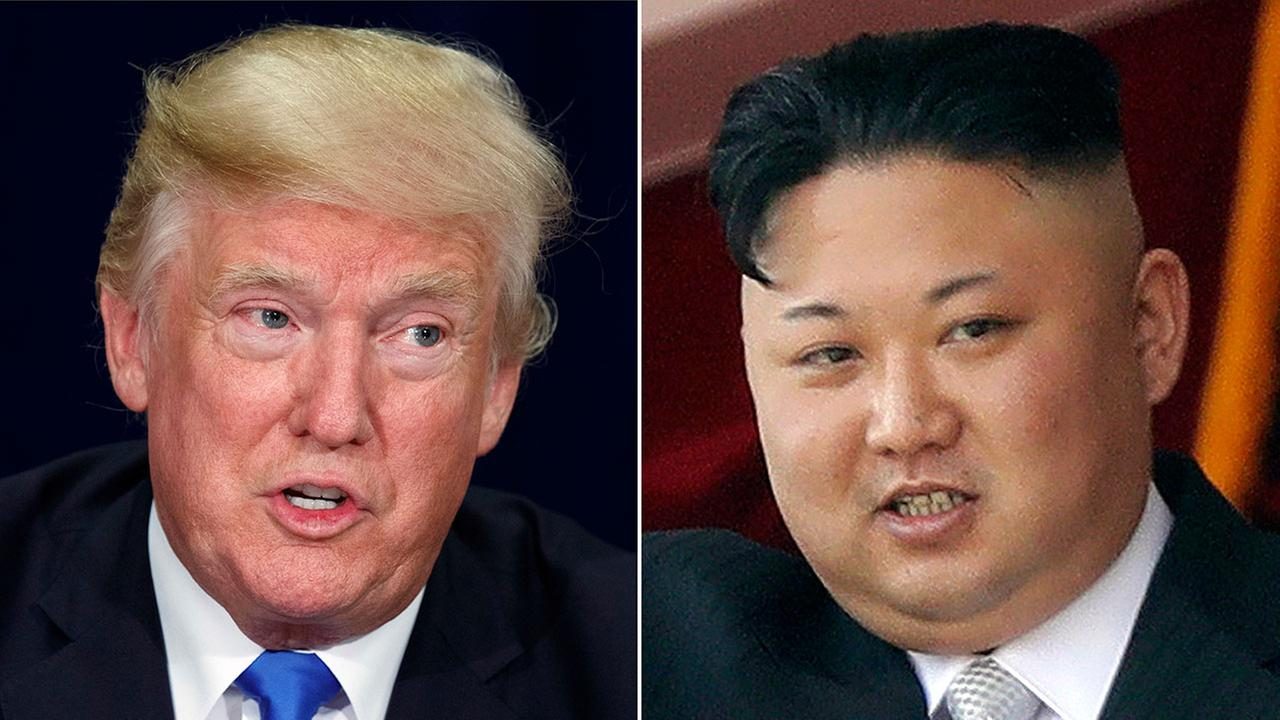 President Trump, North Korean leader Kim Jong Un to meet June 12 in Singapore