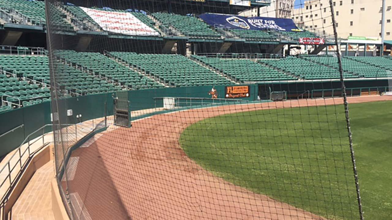 As part of several improvements being made to Chukchansi Park now under new ownership, the safety netting behind home plate will be extended.