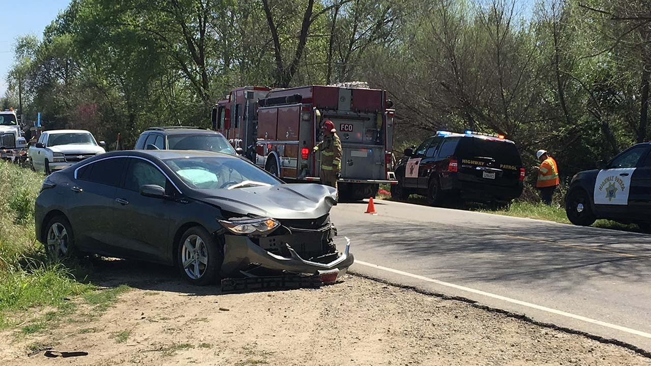 A woman has died after a head-on collision on State Route 180 near Trimmer Springs Road near Centerville Wednesday morning.