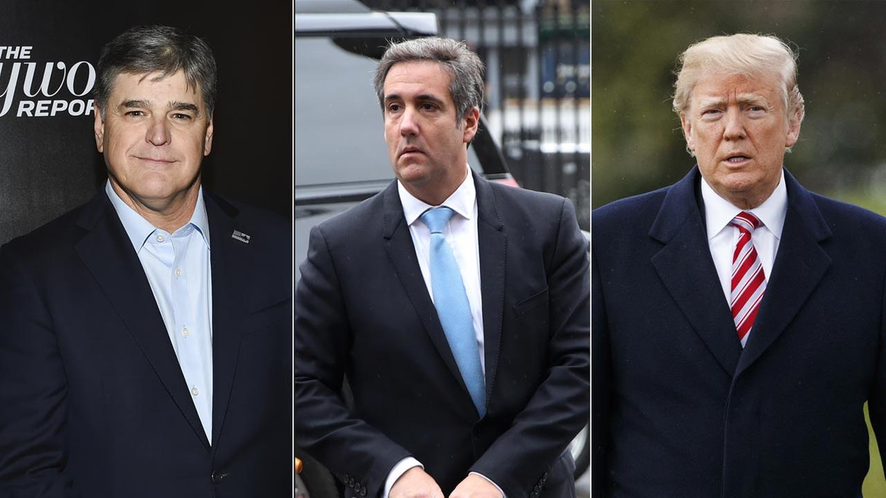 Sean Hannity, Michael Cohen, President Donald Trump,
