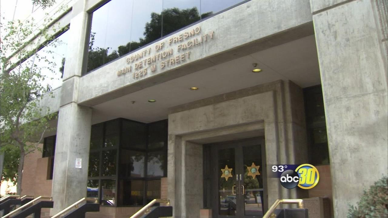 (FILE) Picture of the outside of the Fresno County Jail