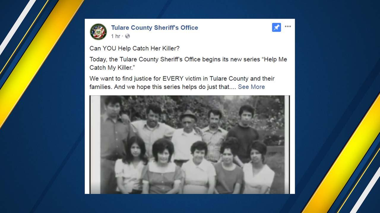 Tulare County Sheriff's Office letting murder victims tell their stories in hopes of catching killers
