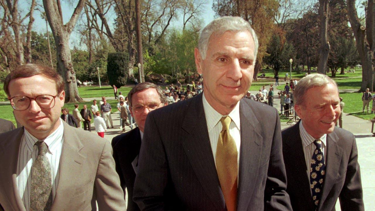 FILE: Former California Gov. George Deukmejian (1996)