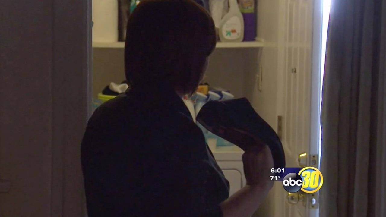 Hanford mom scares off home intruder with high-heeled shoe