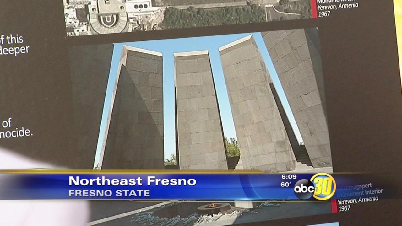 Fresno State breaks ground on Armenian Genocide memorial monument