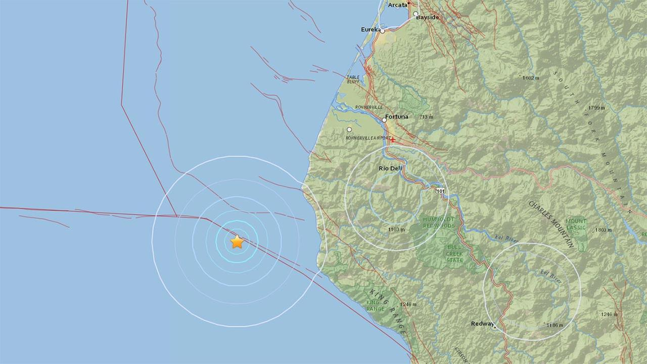 5.7 Earthquake in Northern California