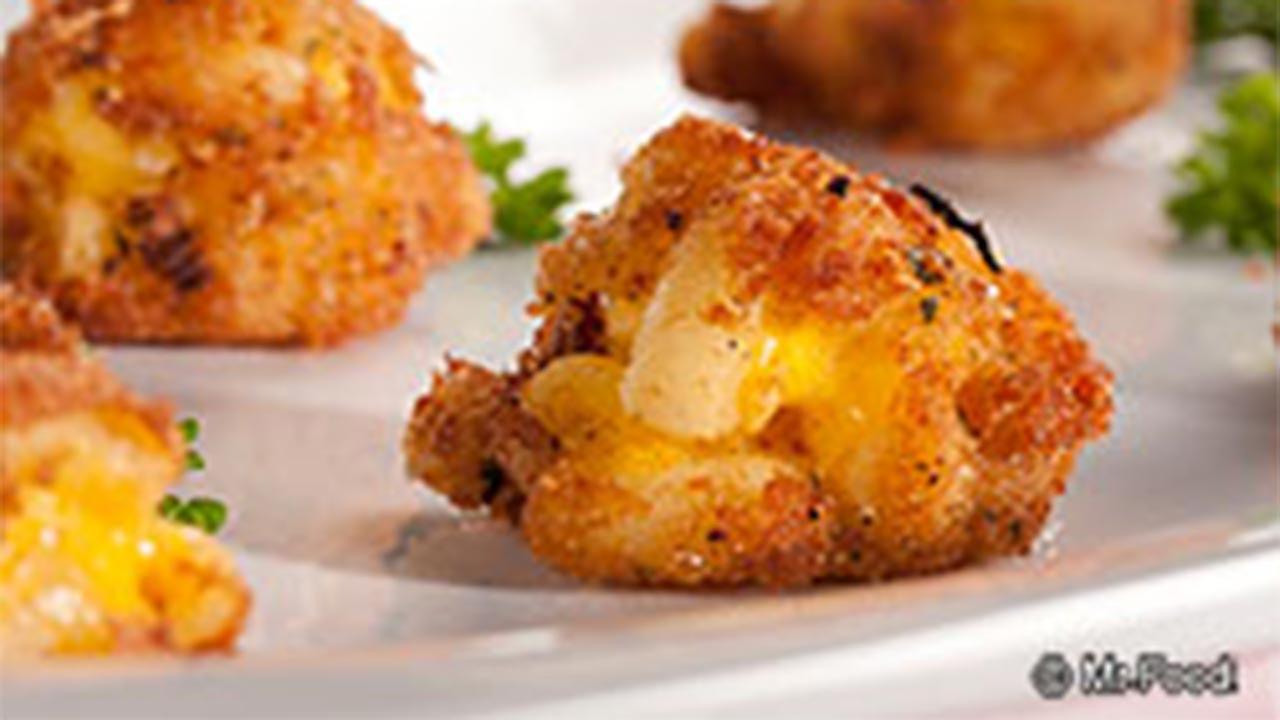 Fried Mac 'n' Cheese Balls