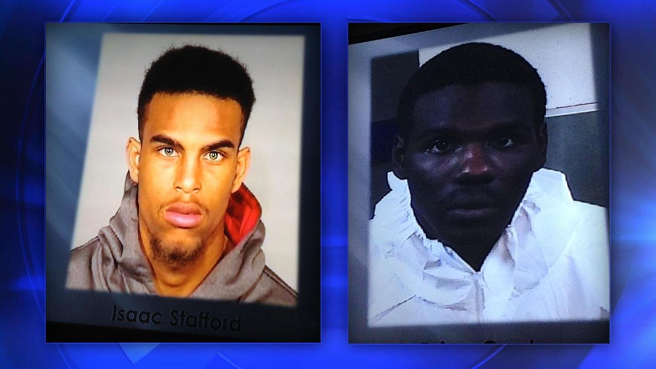 Janessa Ramirez shooting suspects 22-year-old Brian Cooks and 19-year-old Isaac Stafford