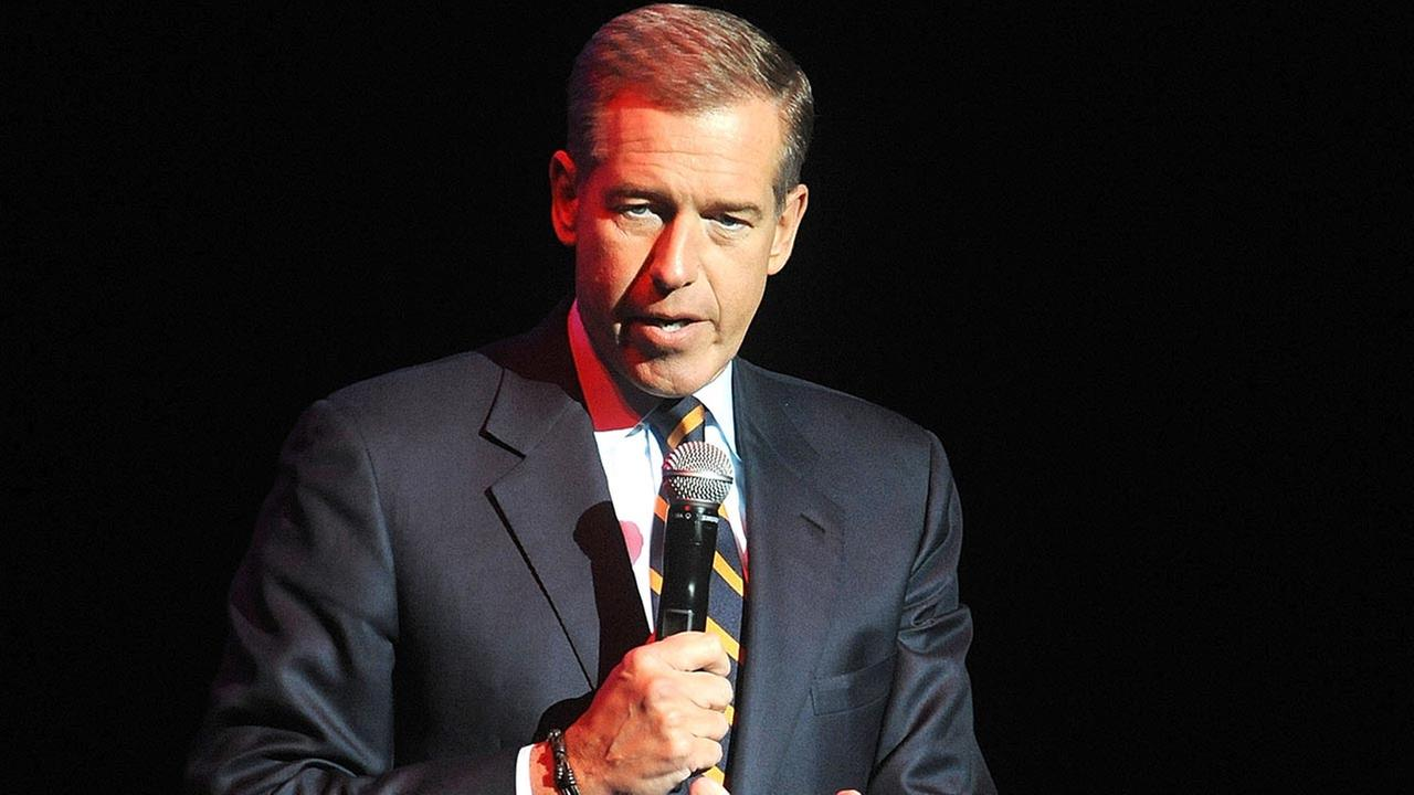 In this Nov. 5, 2014 file photo, Brian Williams speaks at the 8th Annual Stand Up For Heroes.