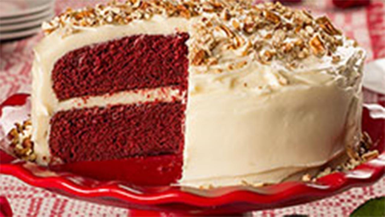 Velvety Red Velvet Cake