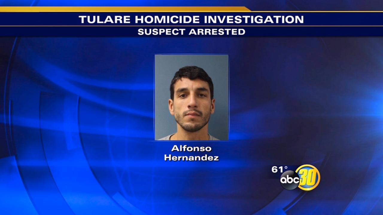 Man arrested in Tulares first homicide of 2015