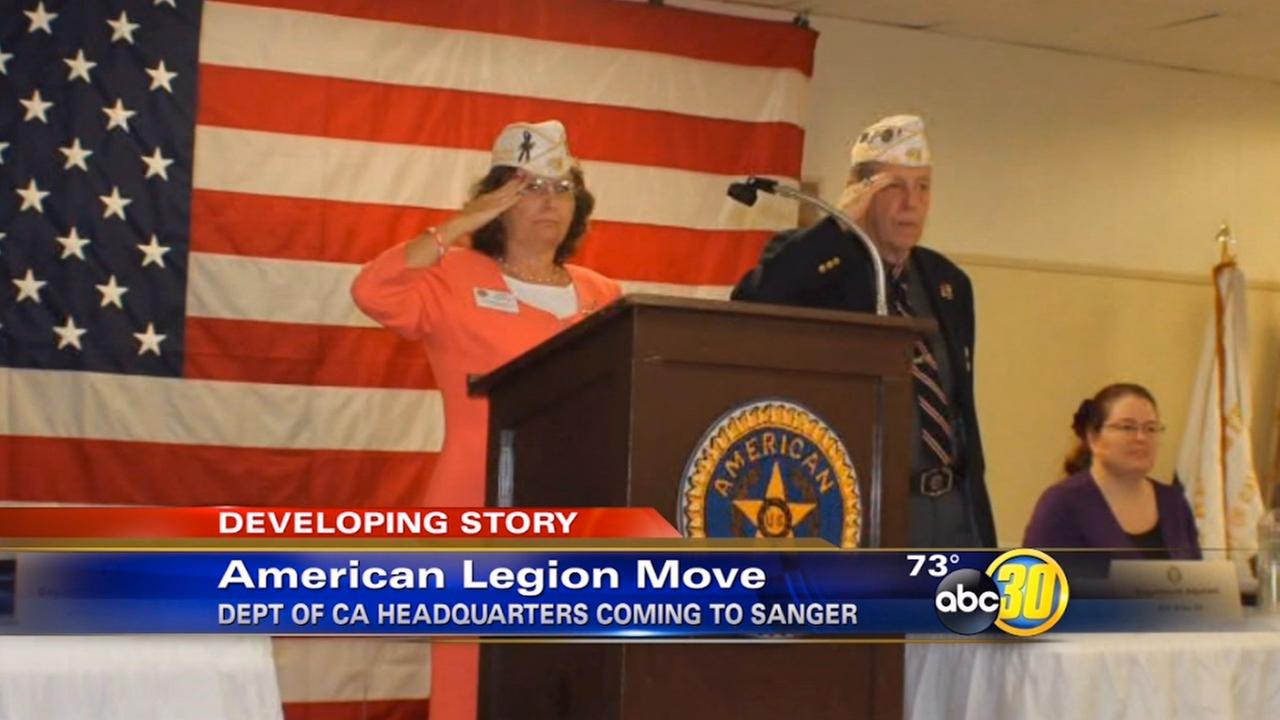 American Legions California headquarters moving to Sanger