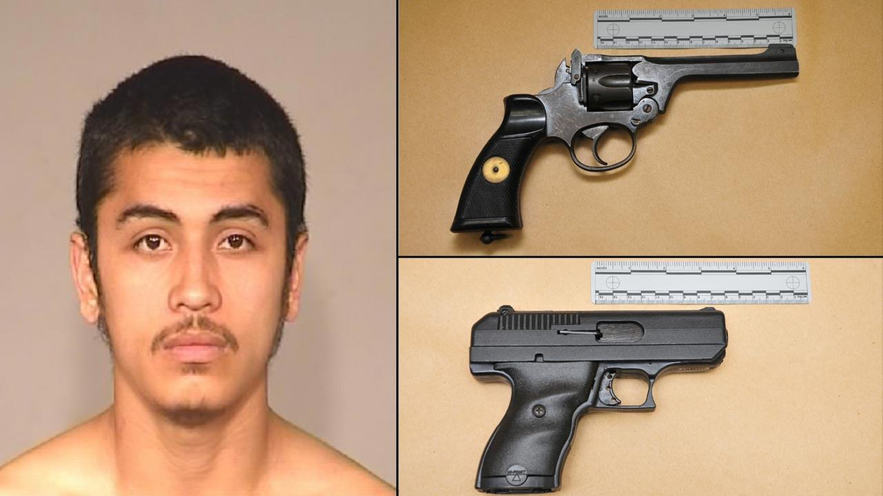 Armed Robbery Suspect, 22-year-old Eric Esparza