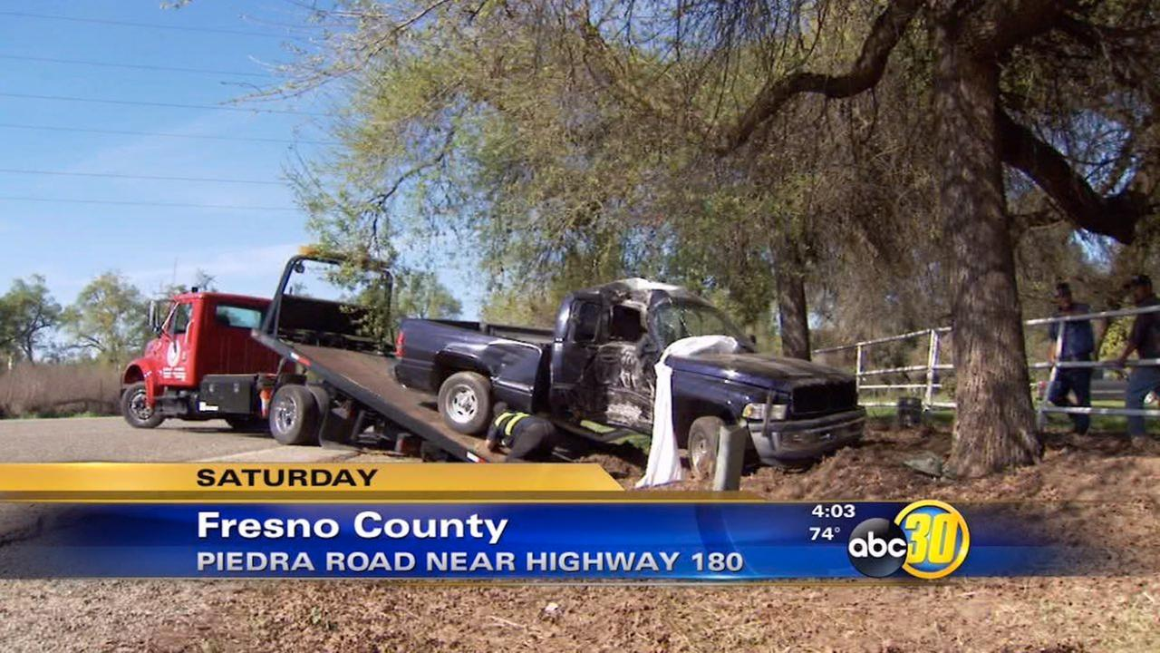 Man killed in suspected DUI crash in Fresno County identified