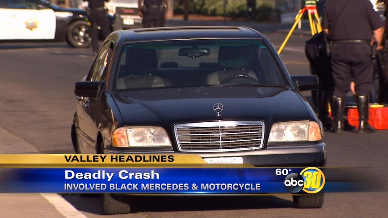 Deadly crash investigated in Central Fresno