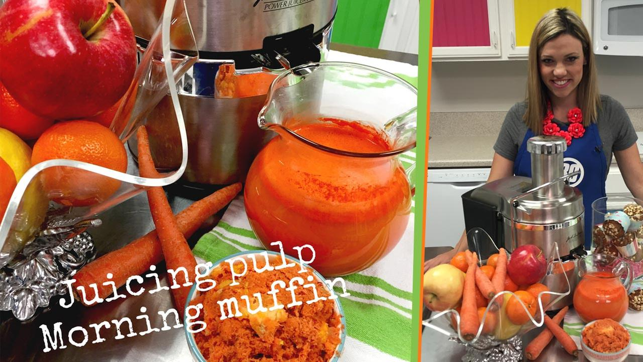 Turn juicing pulp into a delicious and healthy breakfast.