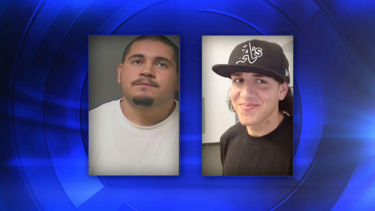 Hanford attempted murder suspects 24-year-old Adam Solorio and 18-year-old Abel Garnica