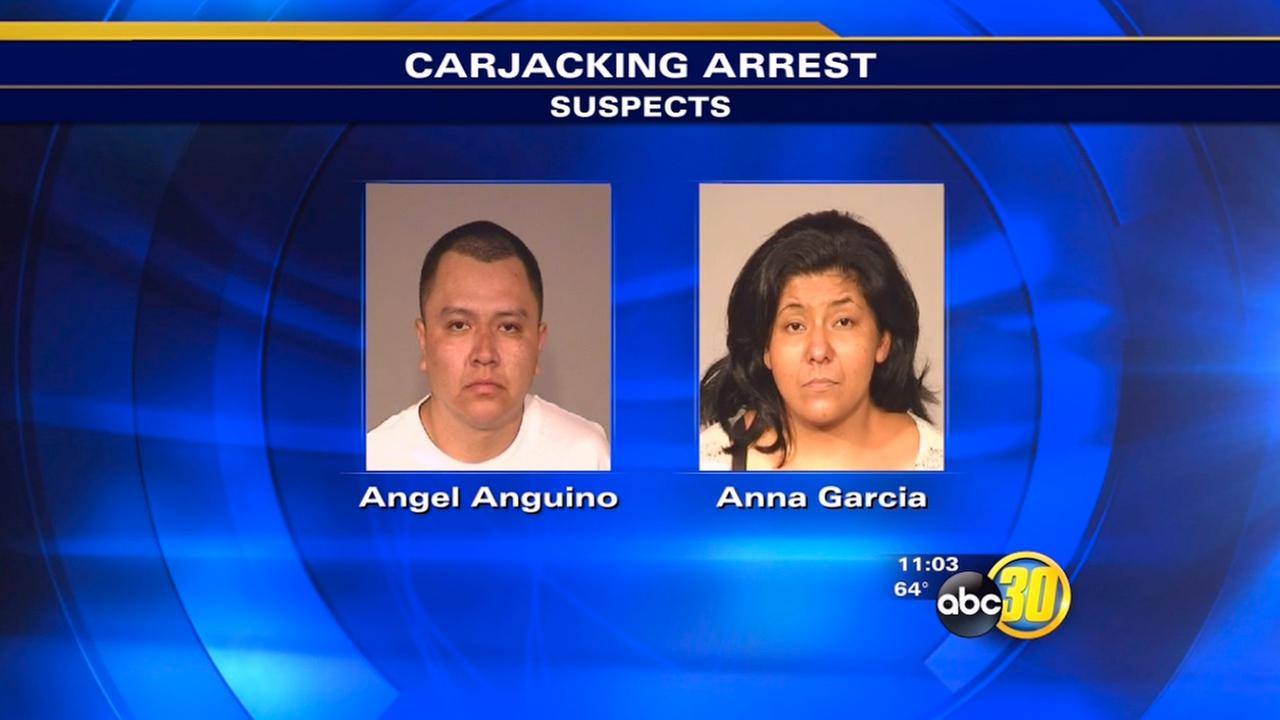 Fresno police arrest carjacking suspects after stick-shift trouble