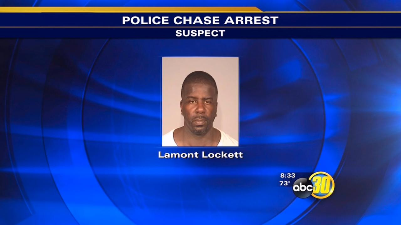 Man accused of leading police on chase in Fresno
