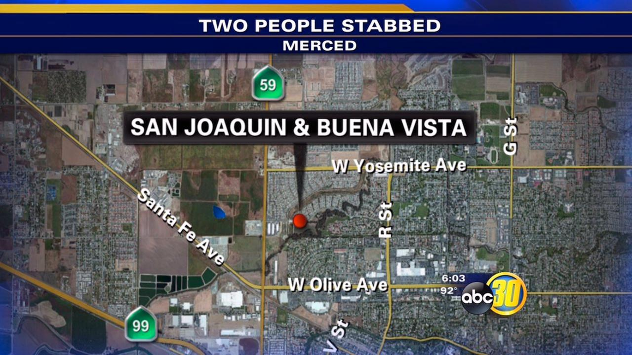 Merced double stabbing