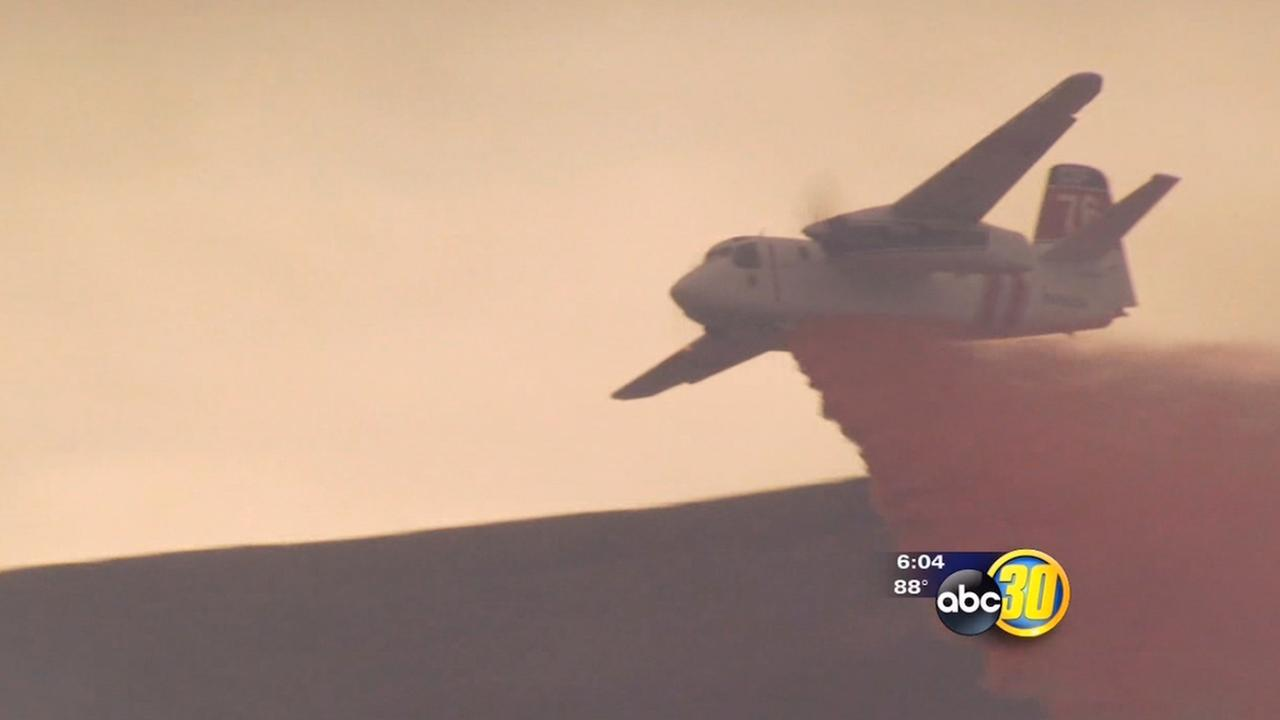 Lightning-sparked fires in Fresno County now 80 percent contained