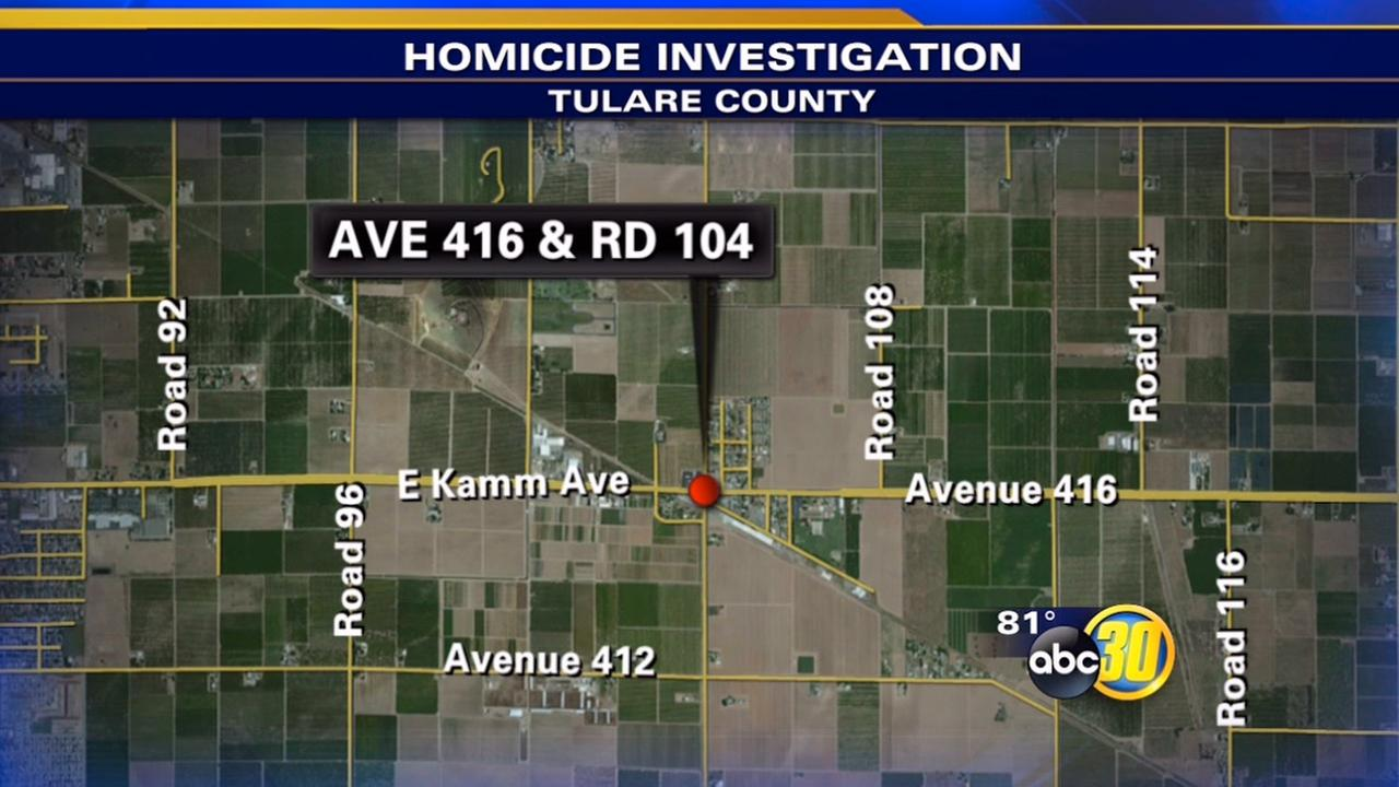 A man is dead after being shot in the Tulare County community of Sultana on Friday, June 12, 2015.