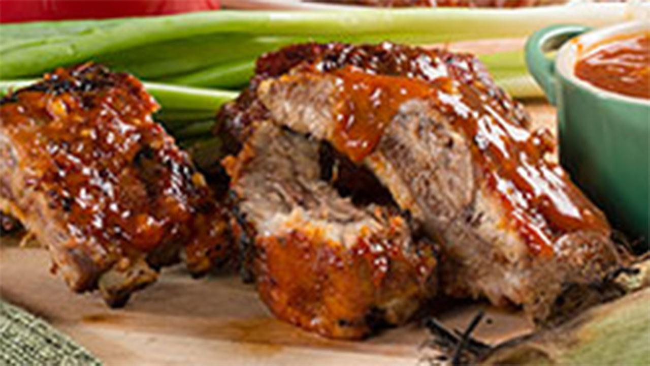 T.L.C.  Barbecued Ribs recipe