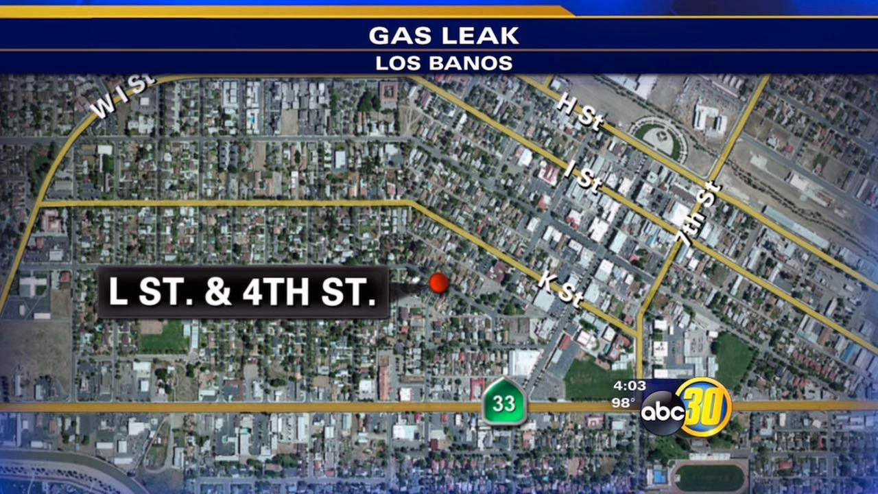Los Banos gas leak