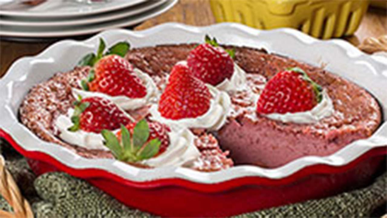 One Dish Strawberry Pie