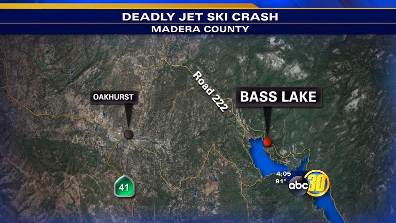 Los Gatos teen killed in jet ski collision on Bass Lake