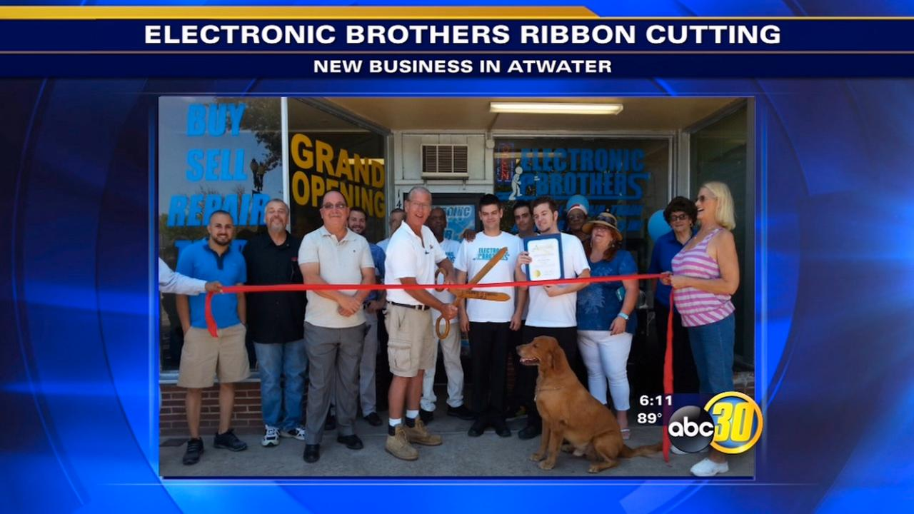 Atwaters Electronic Brothers holds ribbon-cutting ceremony