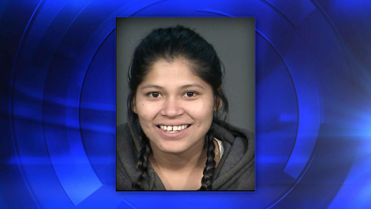 Stabbing suspect Vanessa Ledger of Clovis, California