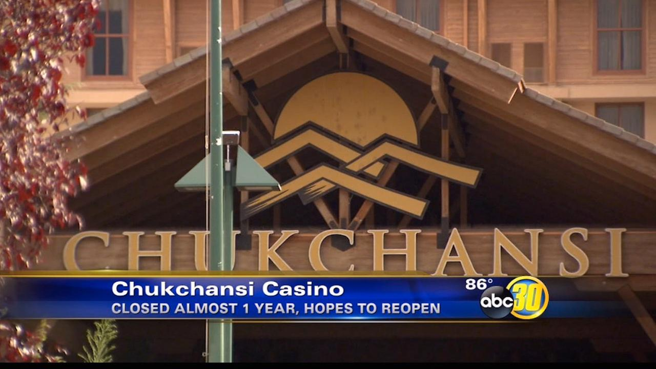 Tribe optimistic about Chukchansi casino Labor Day weekend reopening