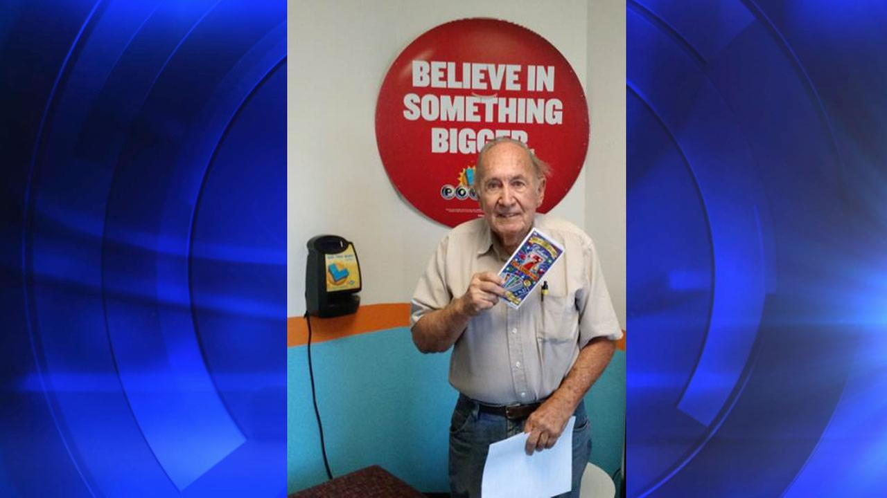 California Lottery winner Kenneth Tatum