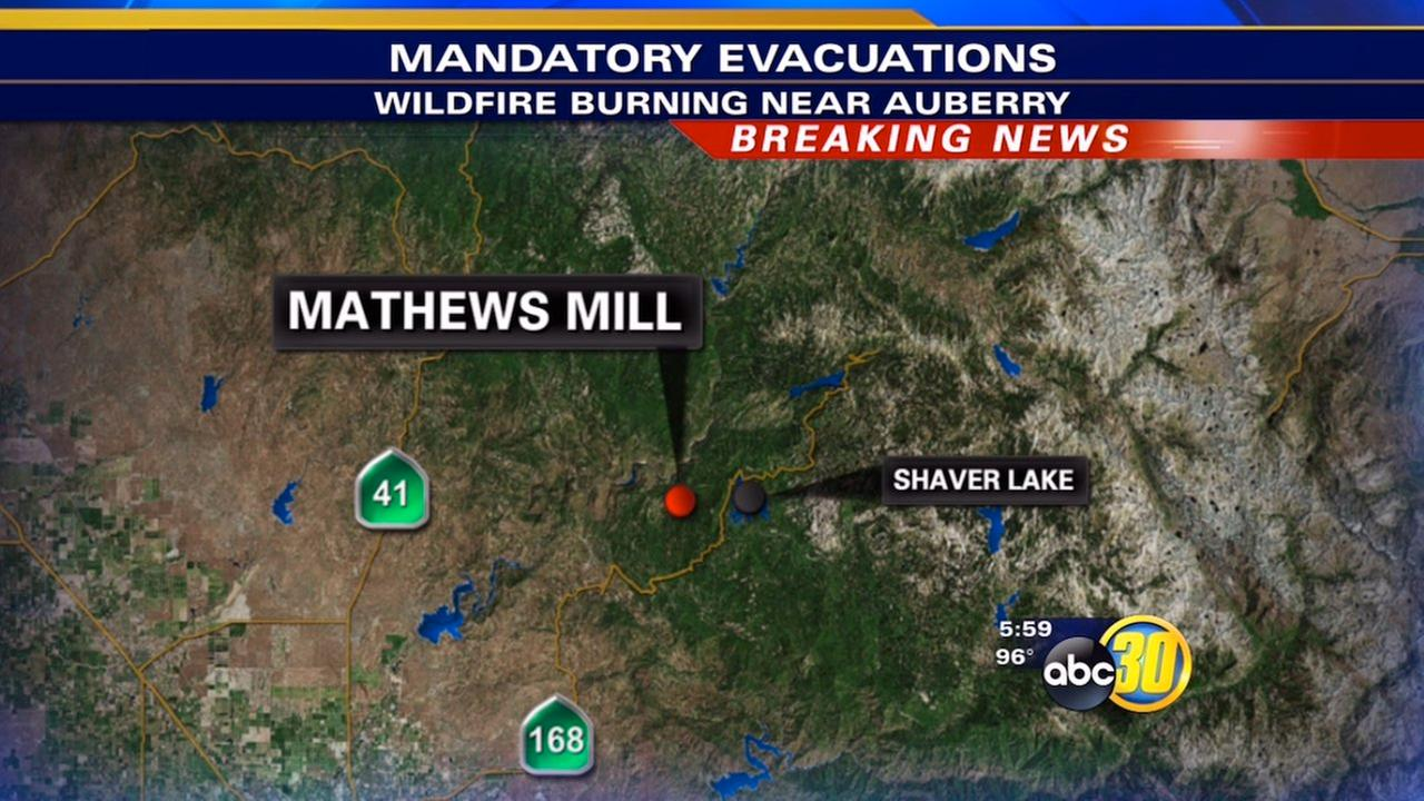 Fire evacuations - Mathews Mill