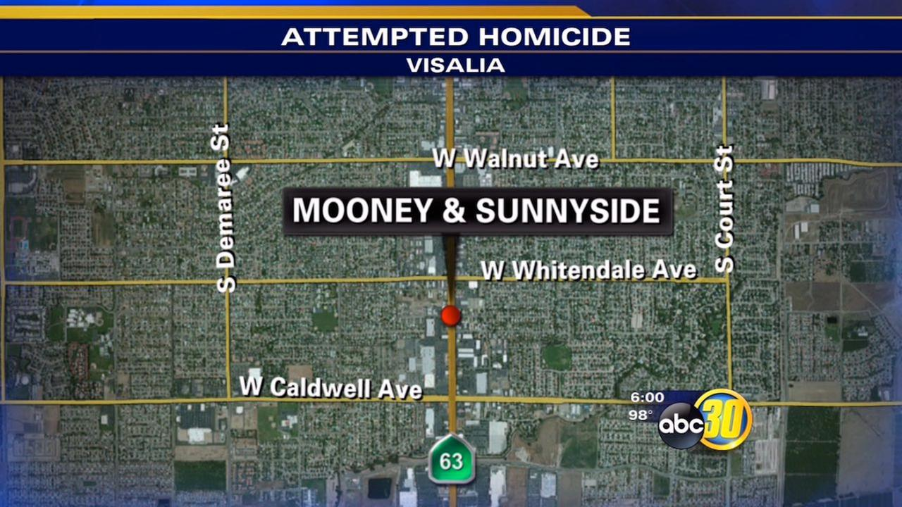 Visalia stabbing leaves man in serious condition